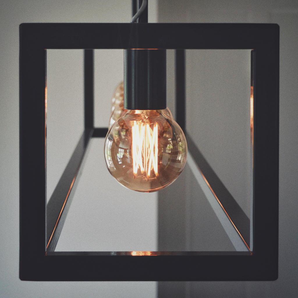 Hanglamp staal