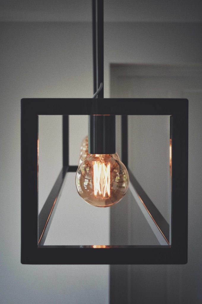Hanglamp, symmetrie